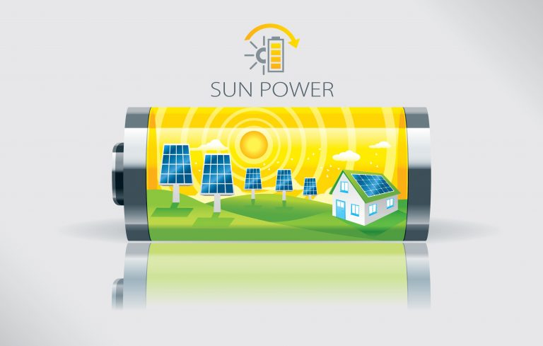 Eco Sun Battery Power Diagram