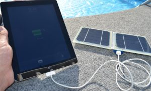 Solar Power Ipad Charger