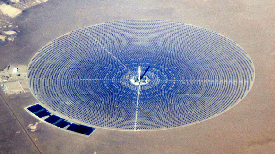GoSun Go™ The Crescent Dunes Solar Energy Project