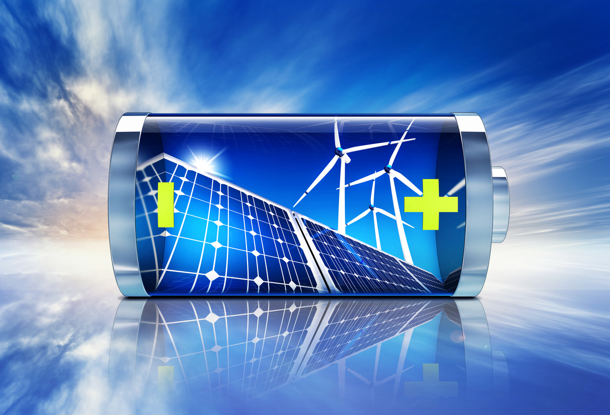 Solar Panels and Battery Renewable Resources