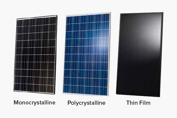 Different Types Of Solar Panels And Their Differences