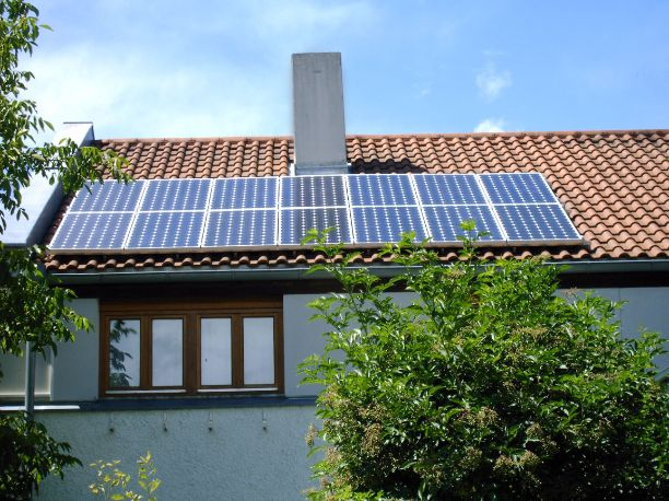 Clay Roof Tile Solar PV System