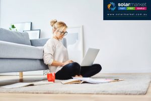 at home worker solar