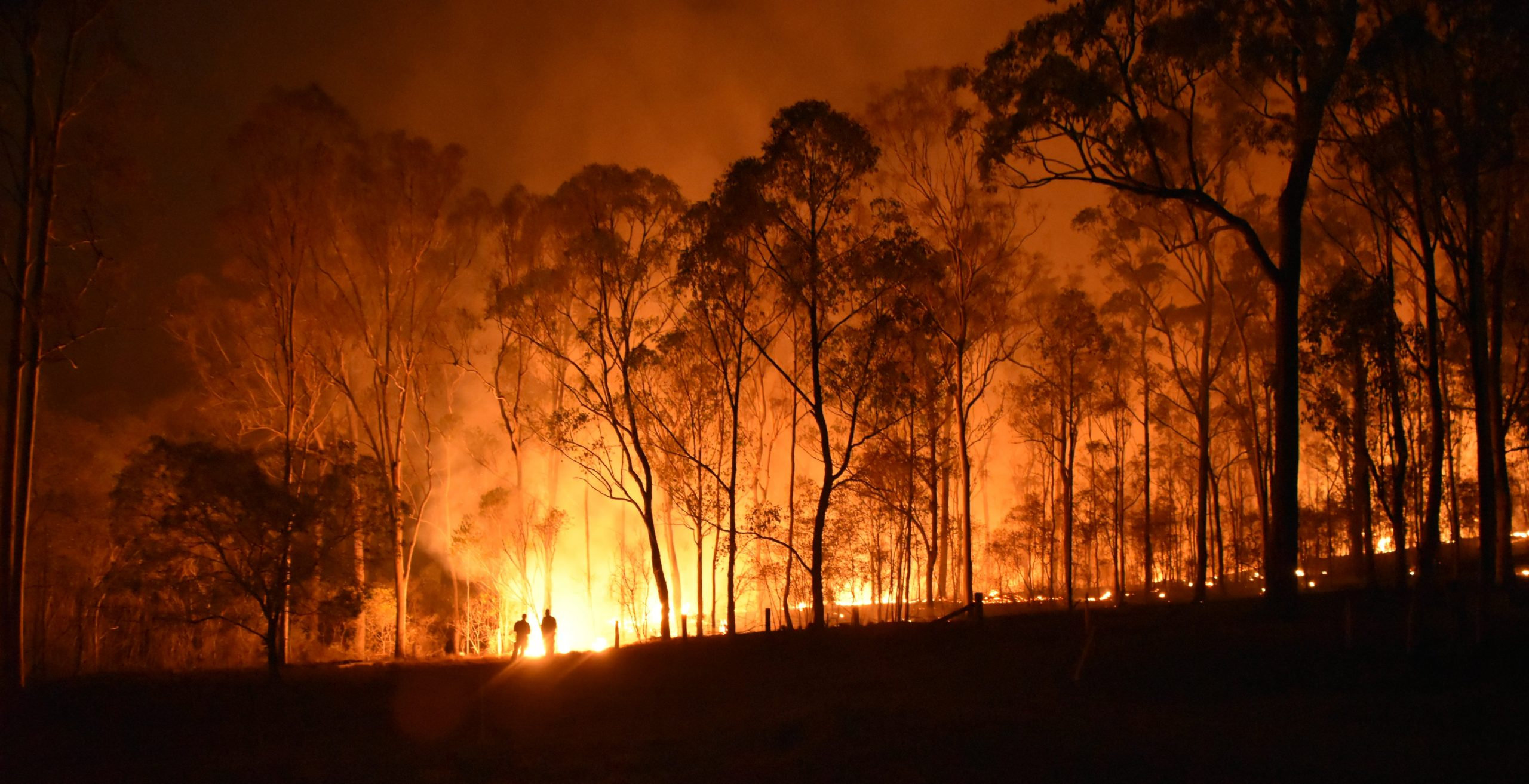 Australian bush fire season linking with climate change