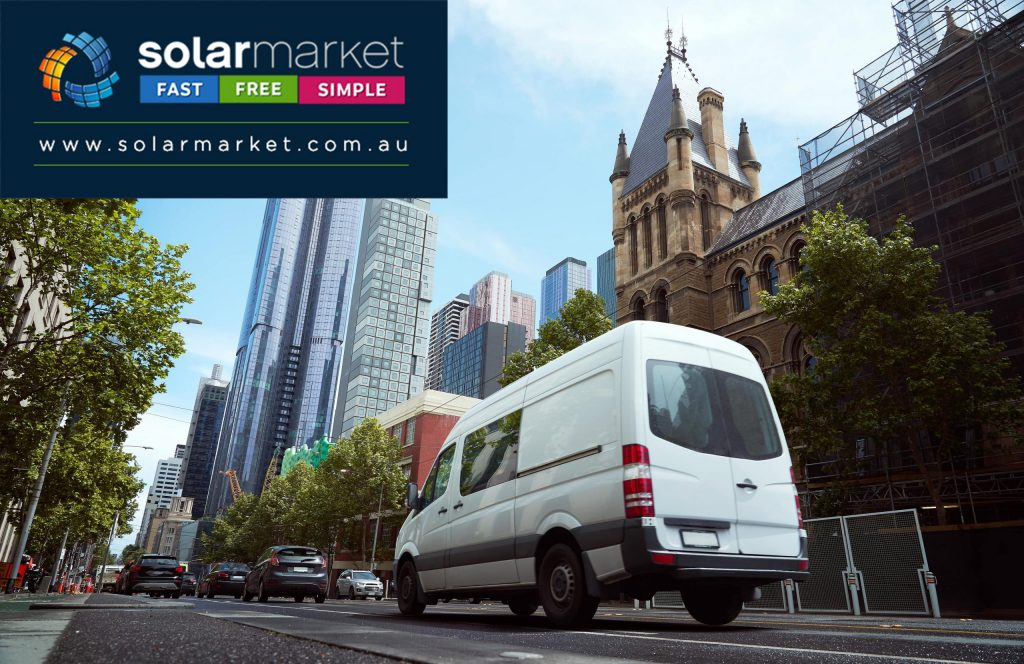 sydney gets solar powered couriers