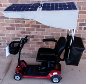 Solar Powered Mobility Scooter